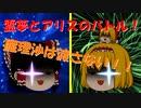 【ゆっくり茶番】霊夢とアリスのバトル!!