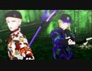 【MMDツイステ】豆イベ衣装でジャバヲッキー・ジャバヲッカ【ヴィル/ルーク】