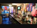 ファンタジスタカフェにて 島唄等沖縄風の曲を語る