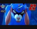 【ポケモン剣盾】世代が飛び飛び知識の俺がポケモンソード初見プレイ その65【実況】