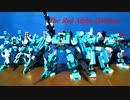 【プチブロック】レッドアルファ師団&ヘビーファルコン【コマ撮り】