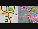 「劇場版名探偵コナン沈黙の15分」に登場した地下鉄「東都線」を検証してみた(前編)「大江戸線」との比較