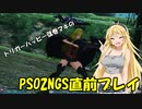 【PSO2・PSO2NGSベンチ】PSO2NGSリリース直前プレイ【Voiceroid】