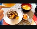 絵図最悪(ノ∇`;)黒豆納豆かけ飯