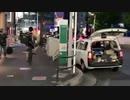 夜の名古屋の街を歩く黒澤 2021年6月