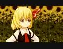 【第13回東方ニコ童祭】ルーミアと傘【東方MMD】