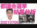 都議会選挙結果分析/安住淳の勘違い発言/公明と共産が険悪/災害救助犬が心配 20210705
