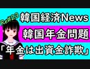 韓国 中国 ニュース NEWS news 経済 韓国経済 中国経済 最新 韓国年金問題  「現在の年金はポンシスキーム、つまり出資金詐欺」次期韓国年金学会会長 イ・チャンス教授 ニコニコ版