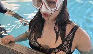 【ビキニ】ホモと見るガチのダイビングトレーニング【巨乳】