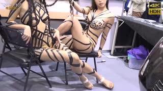 エロすぎる台湾の刺青展