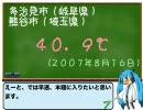 【ニコニコ動画】【40.9℃】岐阜県多治見市はなぜ暑いのか?を解析してみた