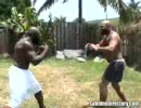 黒人VS白人 ガチ喧嘩