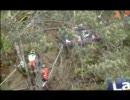バイク2007FIMWCT世界選手権トライアル フランス 危険な崖の昇り降り