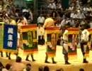 【ニコニコ動画】08年大相撲7月場所5日目 高見盛の永谷園5連発に観客爆笑(VS時天空)を解析してみた