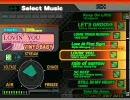 DDR - 北米PS2版DDRMAX2全曲紹介