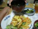 パンツマンの天ぷら