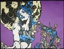 【切り絵】いろいろと偏った漫画を切り絵にしてみた3‐ニコニコ動画(夏)