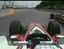 F1 2007カナダGP アロンソをかわす佐藤琢磨