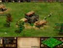 Age of Empires II - The Conquerors Expansion(AOC) Green Arabia 4v4解説付 Part 1