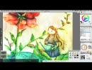 【ニコニコ動画】10時間程水彩で絵本絵描いてみた[解説付けてみた]を解析してみた