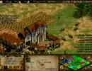Age of Empires II - The Conquerors Expansion(AOC) Green Arabia 4v4解説付 Part 4
