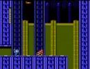 ロックマン XXXX バブルマンステージ バグ面(Rockman XXXX Bubble Man Stage Bug Area)
