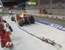 マッサは大変なリグを盗んでいきました 【2008 F1シンガポールGP】 thumbnail