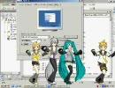 MikuMikuDanceをスクリーンセーバーにしてみた