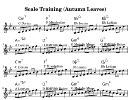 [なんちゃってジャズピアノ] #15 枯葉(Autumn Leaves) スケールによるアドリブ