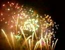 【花火】 ピントをボカして撮影 【勝毎】