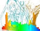 【ニコニコ動画】【初音ミク】 flowertone 【オリジナル】を解析してみた