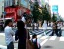 NHKのカメラを横切る馬人間@秋葉原
