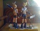 石粉粘土で鏡音さんちの双子を作ってみた 3