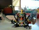【SDガンダム】フェルトで闇騎士ガンダムマークⅡを作ってみた。