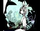 【鏡音リン】A monochrome girl. ( @the world's end )【オリジナル】