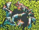 壁画【ココロ】を描いてみた thumbnail