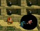弟作の改造ドンキーコングを姉がプレイ 3-4下『バウムの動く城』