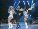 Madonna,Britneyspears,christina aguilera、Missy eliot の共演