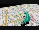 【MikuMikudance(MMD)】京都の通り歌(高画質版)