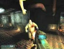 DOOM3プレイムービー12-1 -Monorail Skybridge-