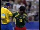 サッカー シドニー五輪 カメルーン対ブラジル