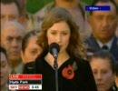 ヘイリーが歌うUK&NZ国歌