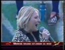 南アフリカ v オーストラリア 試合前国歌