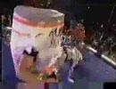 カオスな4怪獣金網マッチ
