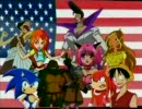 The stars of 4Kids sing the National Anthem