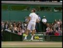 【ニコニコ動画】[Wimbledon 2008] R.フェデラー vs R.ナダル (13)を解析してみた