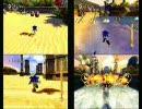 ソニックと秘密のリング 爆走比較動画 改訂版
