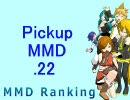 【MikuMikuDance】Pickupランキング.22 (01/19~02/01)【MMDランキング】
