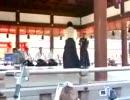 柔術演舞・神前奉納