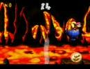 スーパードンキーコング2 ねっききゅうライドのボーナスステージで遊ぶ